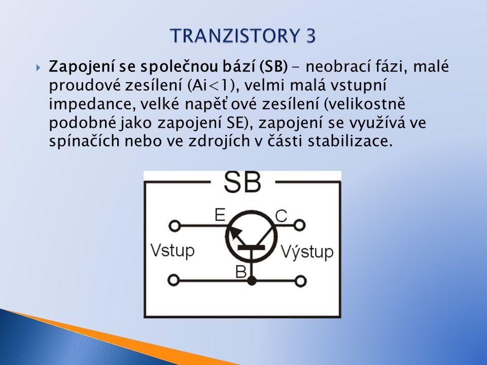 TRANZISTORY 3