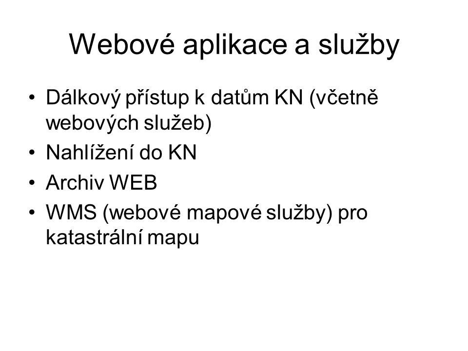 Webové aplikace a služby