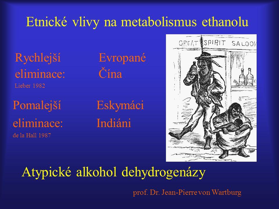 Etnické vlivy na metabolismus ethanolu