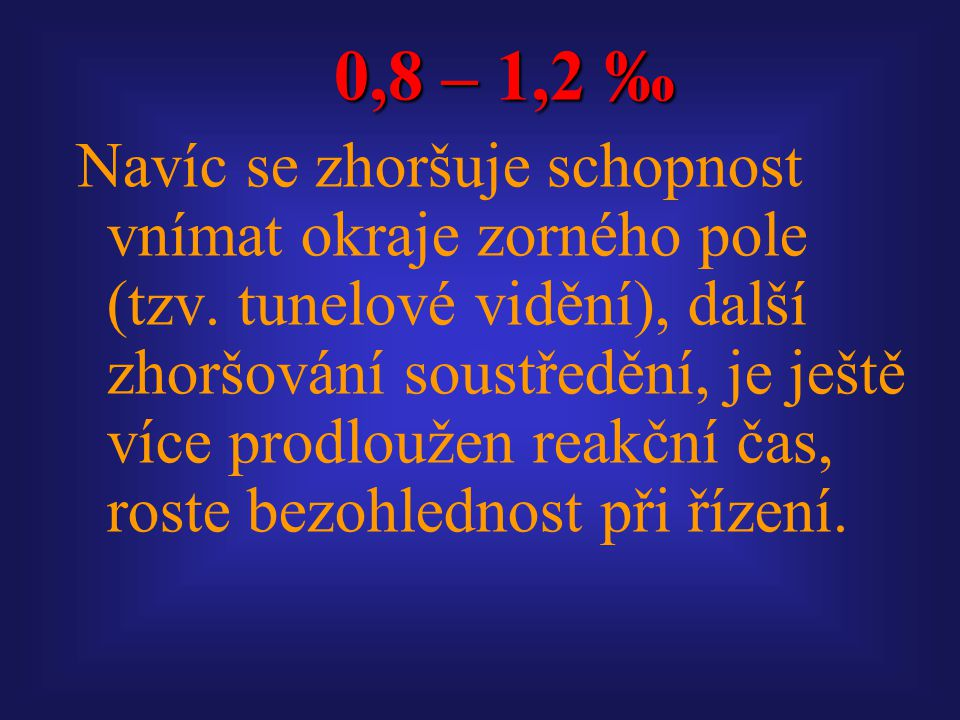 0,8 – 1,2 ‰
