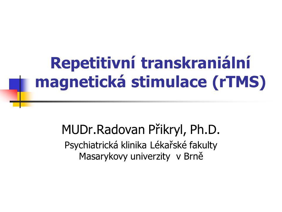 Repetitivní transkraniální magnetická stimulace (rTMS)