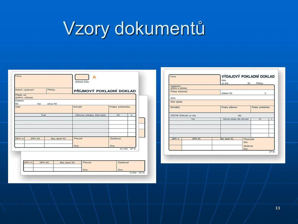 Vzory dokumentů