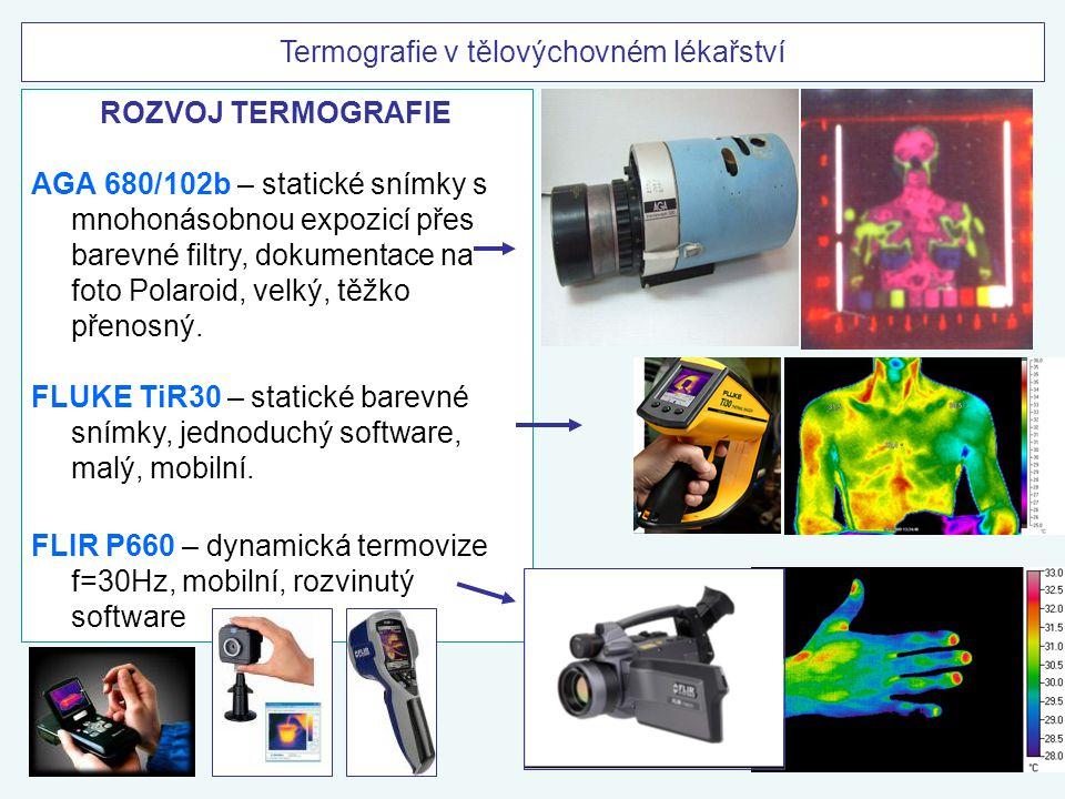 Termografie v tělovýchovném lékařství