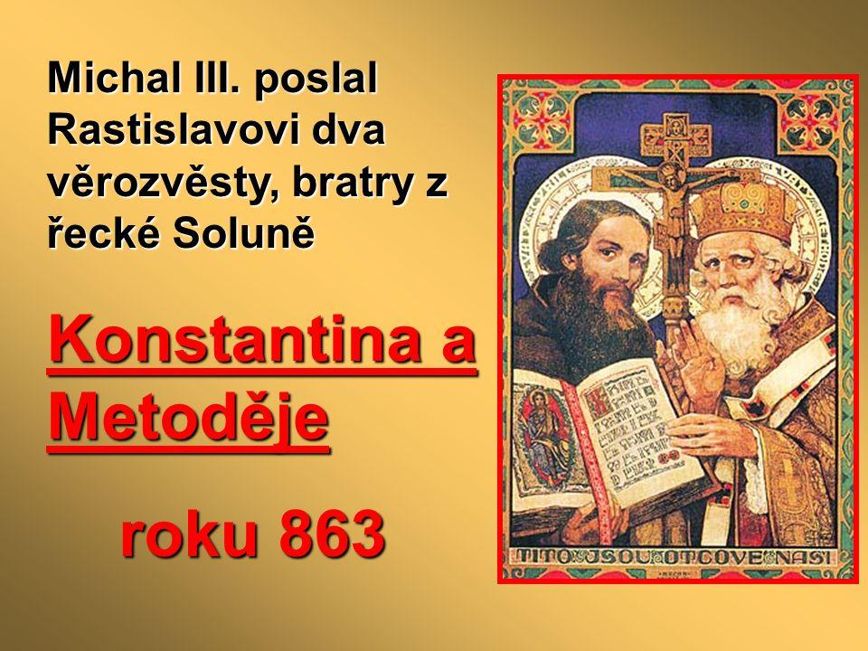 Konstantina a Metoděje