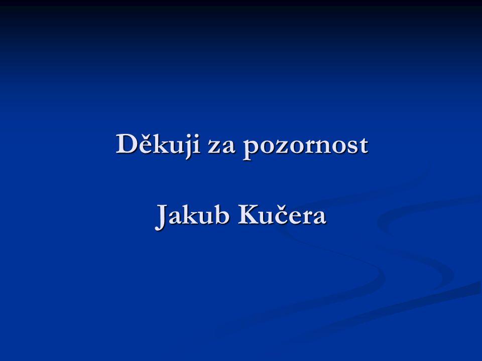 Děkuji za pozornost Jakub Kučera