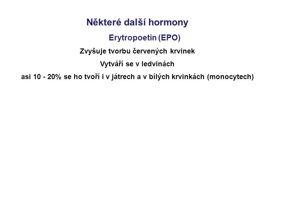 Některé další hormony Erytropoetin (EPO)