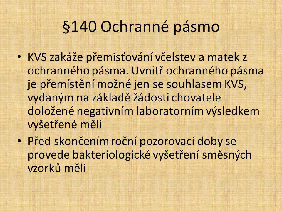§140 Ochranné pásmo