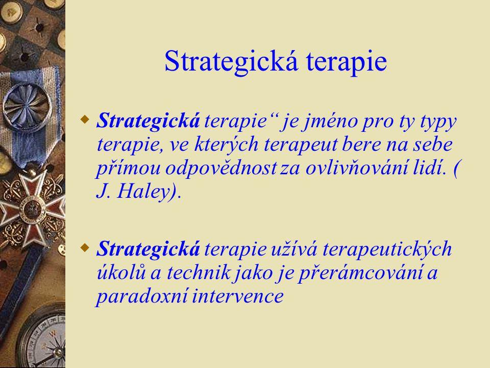 Strategická terapie
