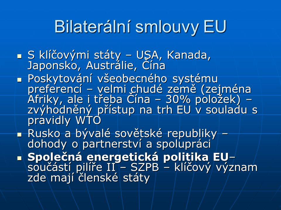 Bilaterální smlouvy EU