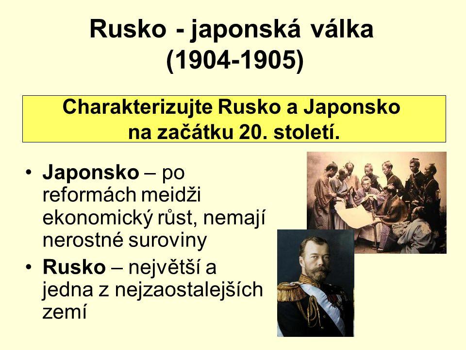 Rusko - japonská válka (1904-1905)