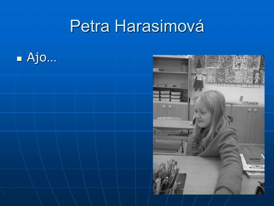 Petra Harasimová Ajo…