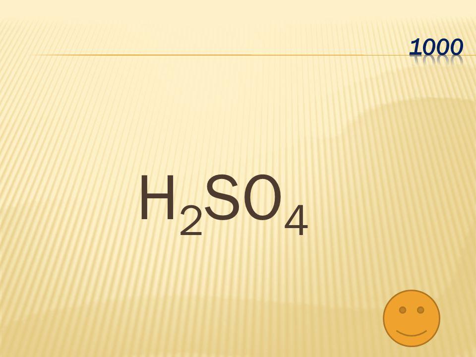 1000 H2SO4