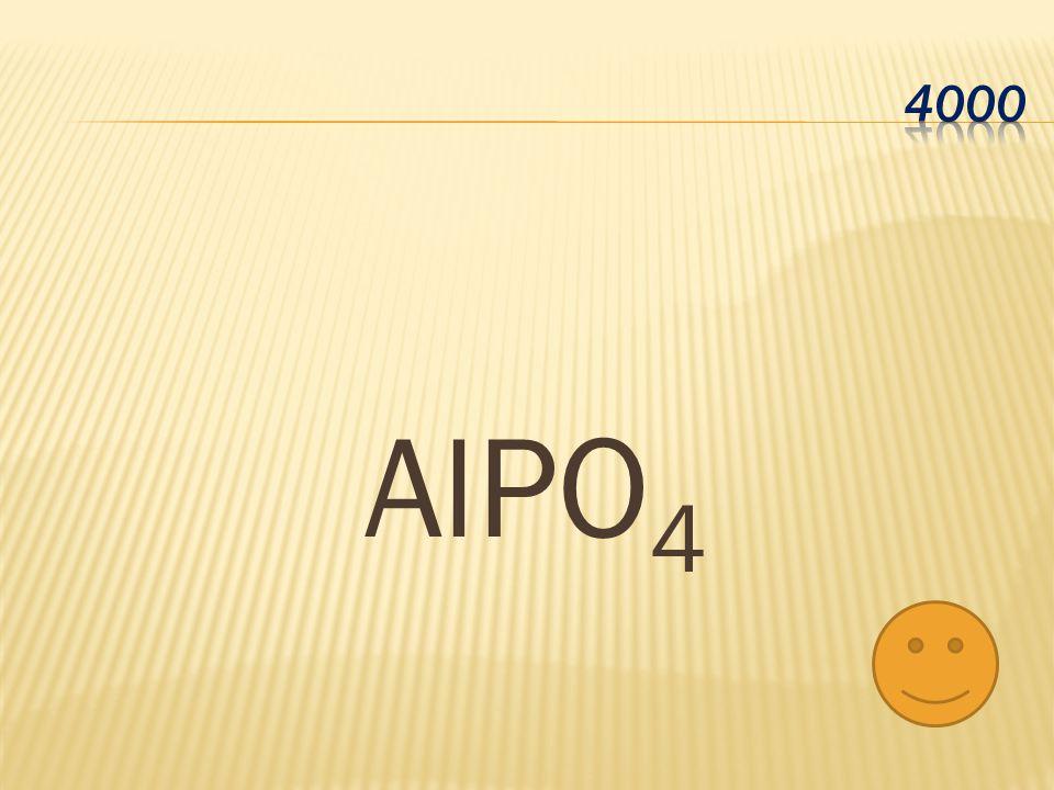 4000 AlPO4