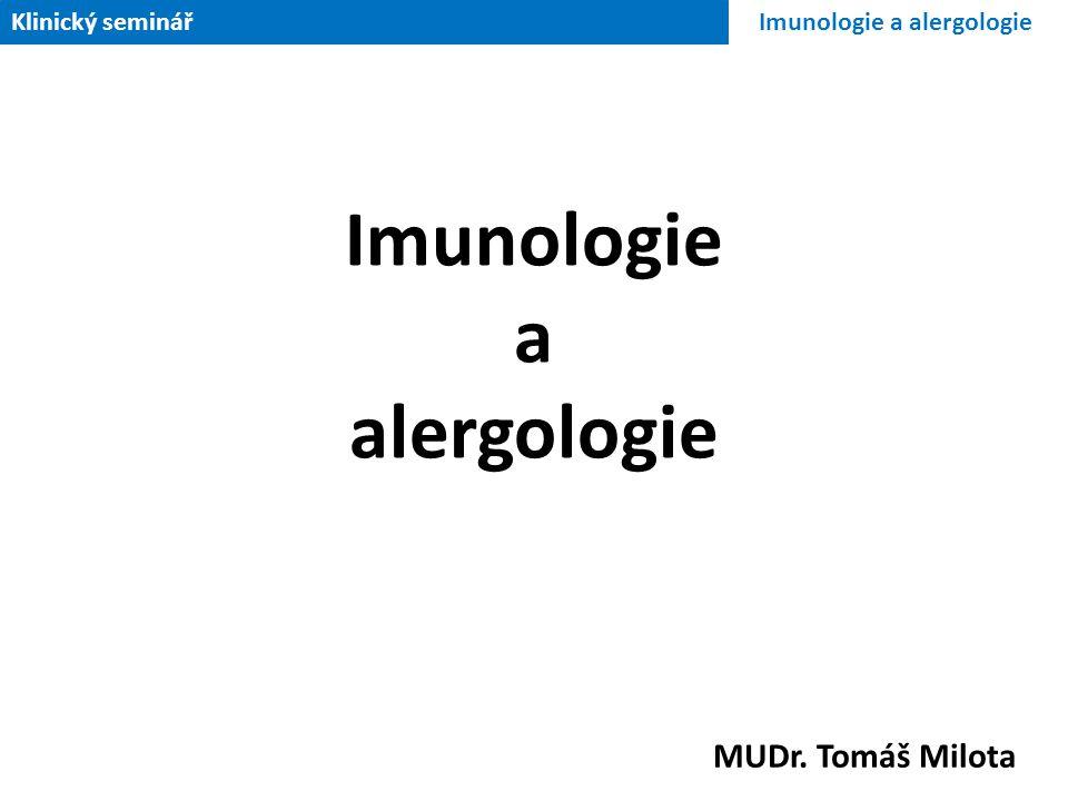 Imunologie a alergologie