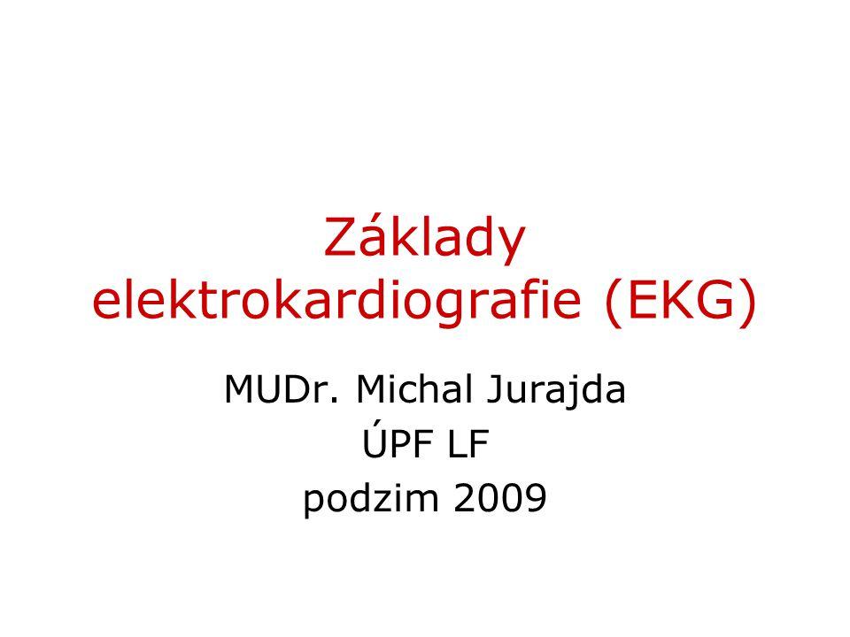 Základy elektrokardiografie (EKG)