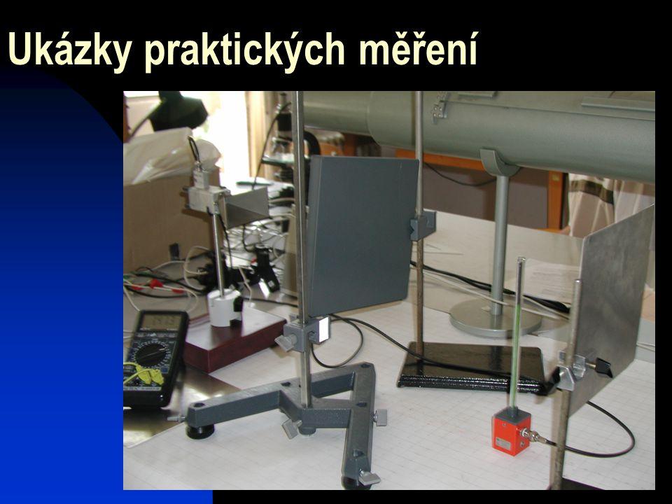 Ukázky praktických měření