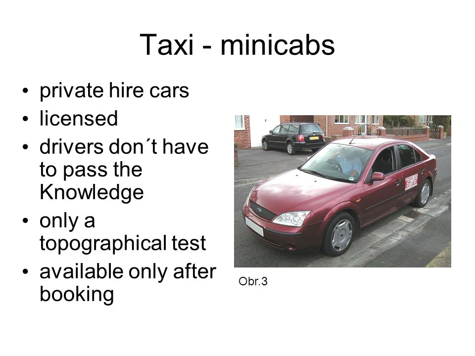 Taxi - minicabs private hire cars licensed