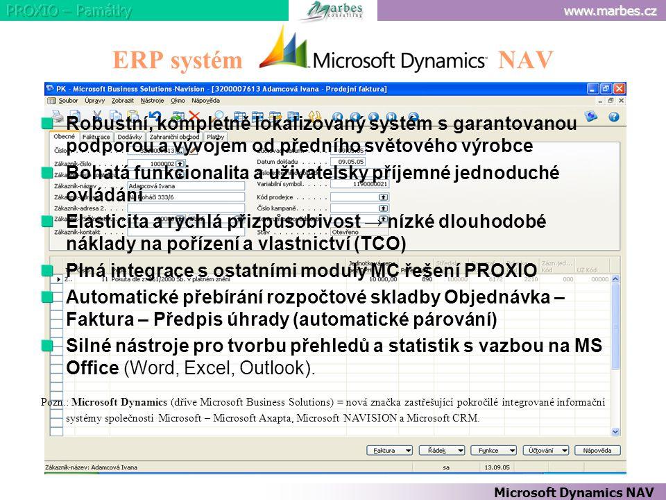 ERP systém NAV
