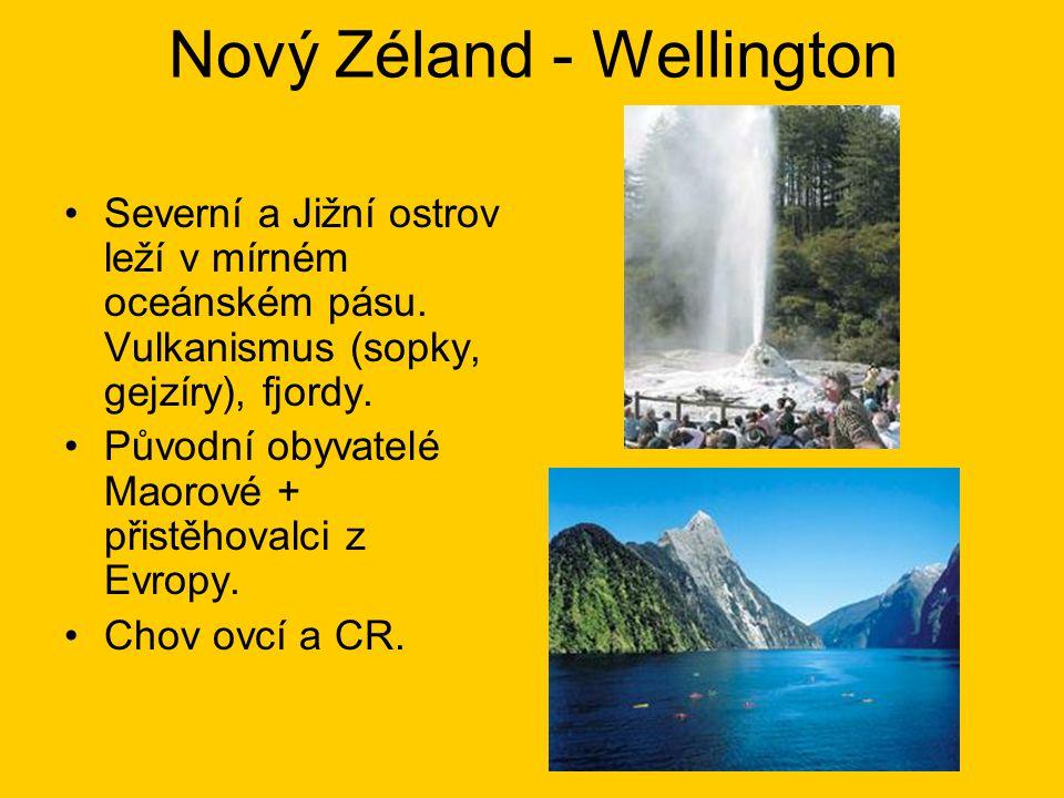Nový Zéland - Wellington