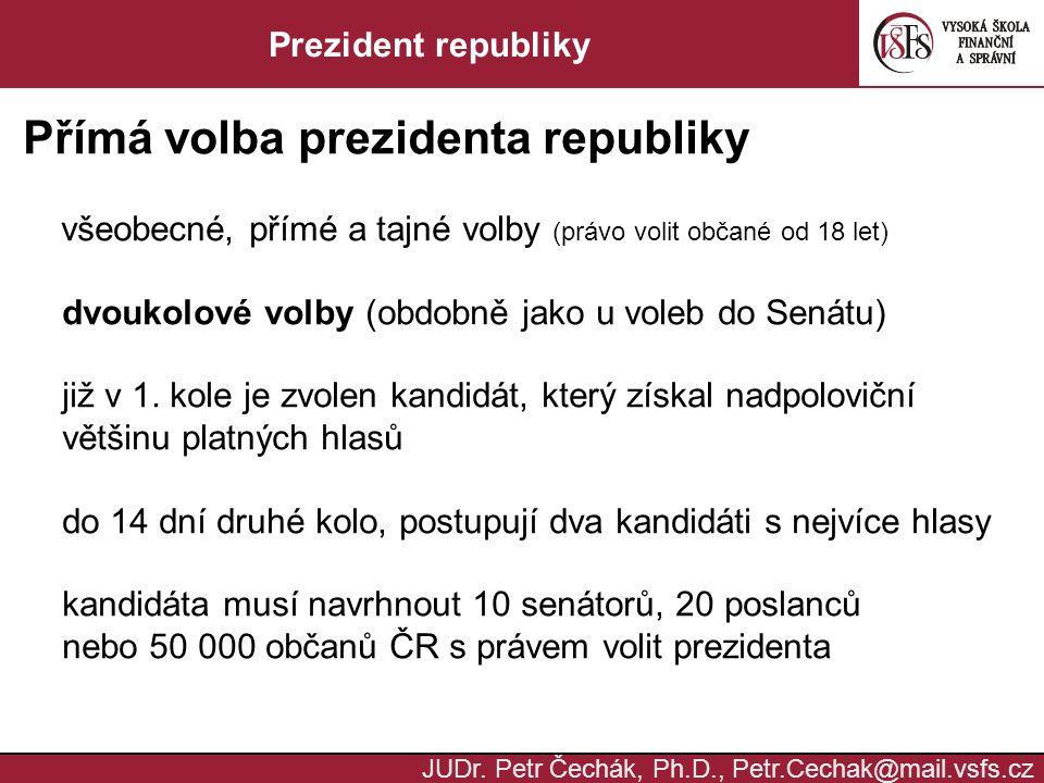 Přímá volba prezidenta republiky