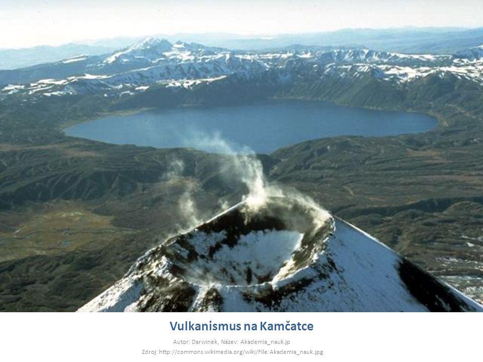 Vulkanismus na Kamčatce