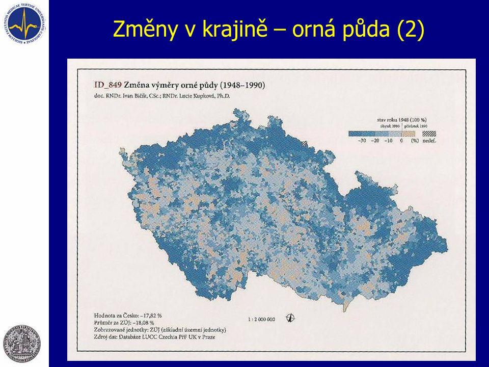 Změny v krajině – orná půda (2)