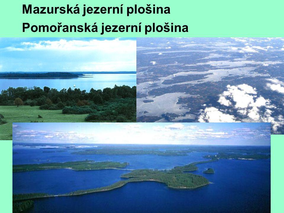 Mazurská jezerní plošina