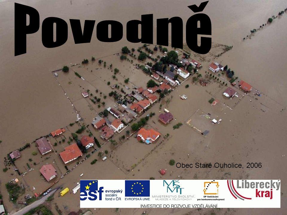 Povodně Obec Staré Ouholice, 2006