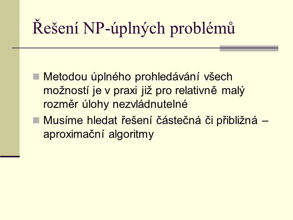 Řešení NP-úplných problémů