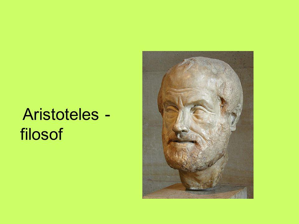 Aristoteles - filosof