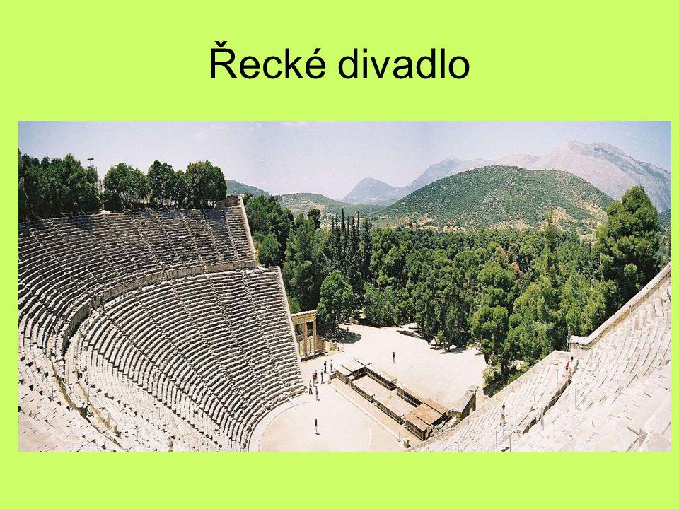 Řecké divadlo