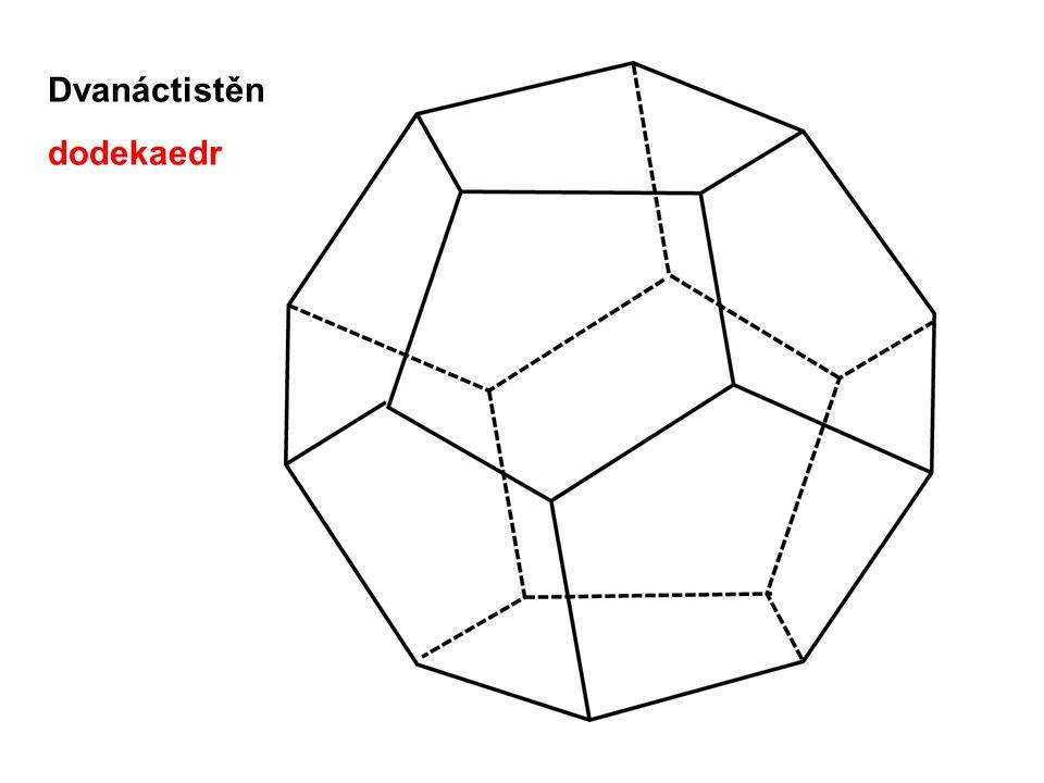 Dvanáctistěn dodekaedr