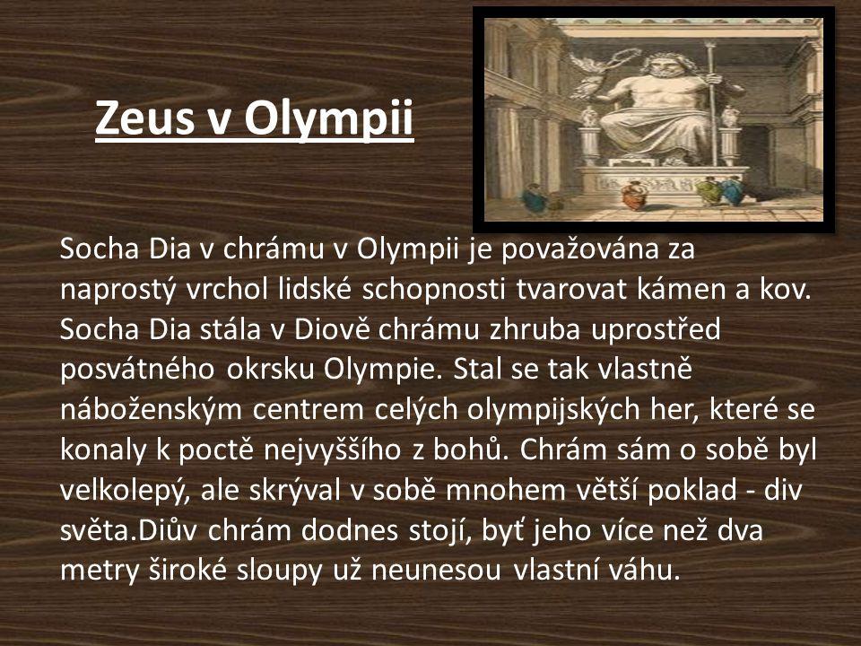 Zeus v Olympii
