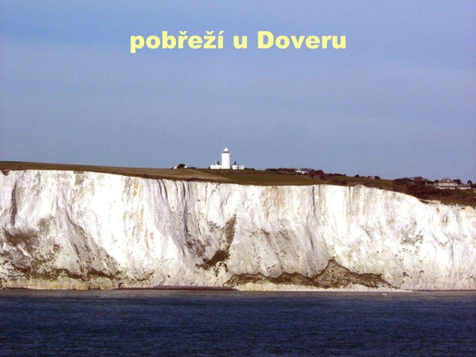 pobřeží u Doveru