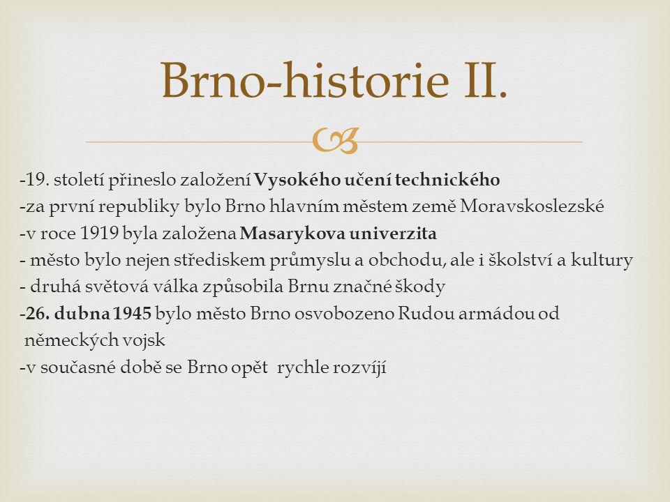 Brno-historie II.