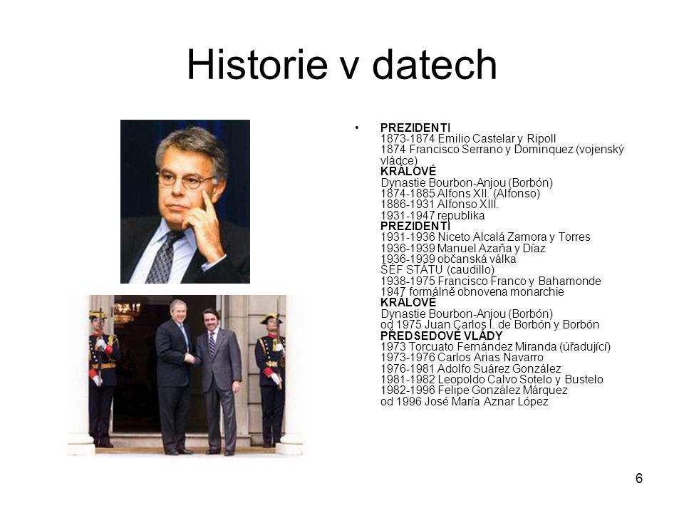 Historie v datech