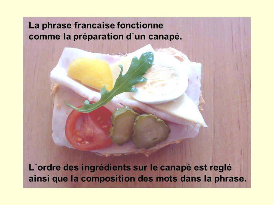 La phrase francaise fonctionne