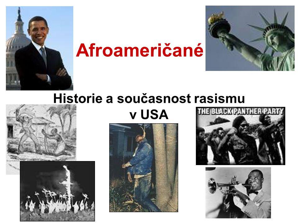 Historie a současnost rasismu v USA