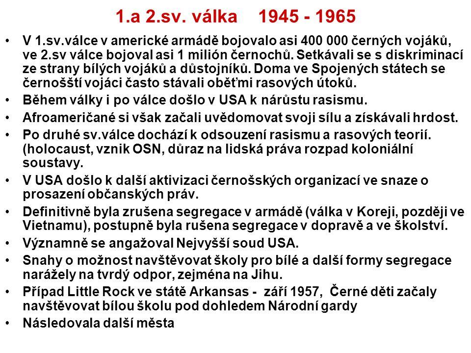 1.a 2.sv. válka 1945 - 1965