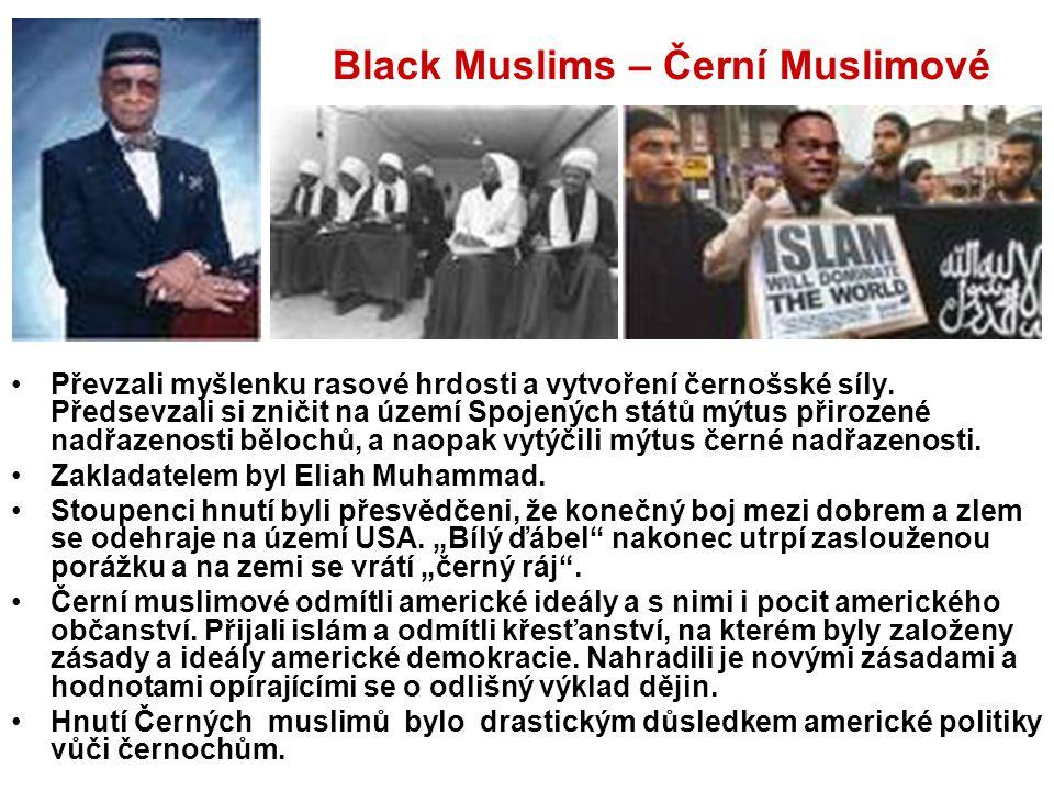 Black Muslims – Černí Muslimové