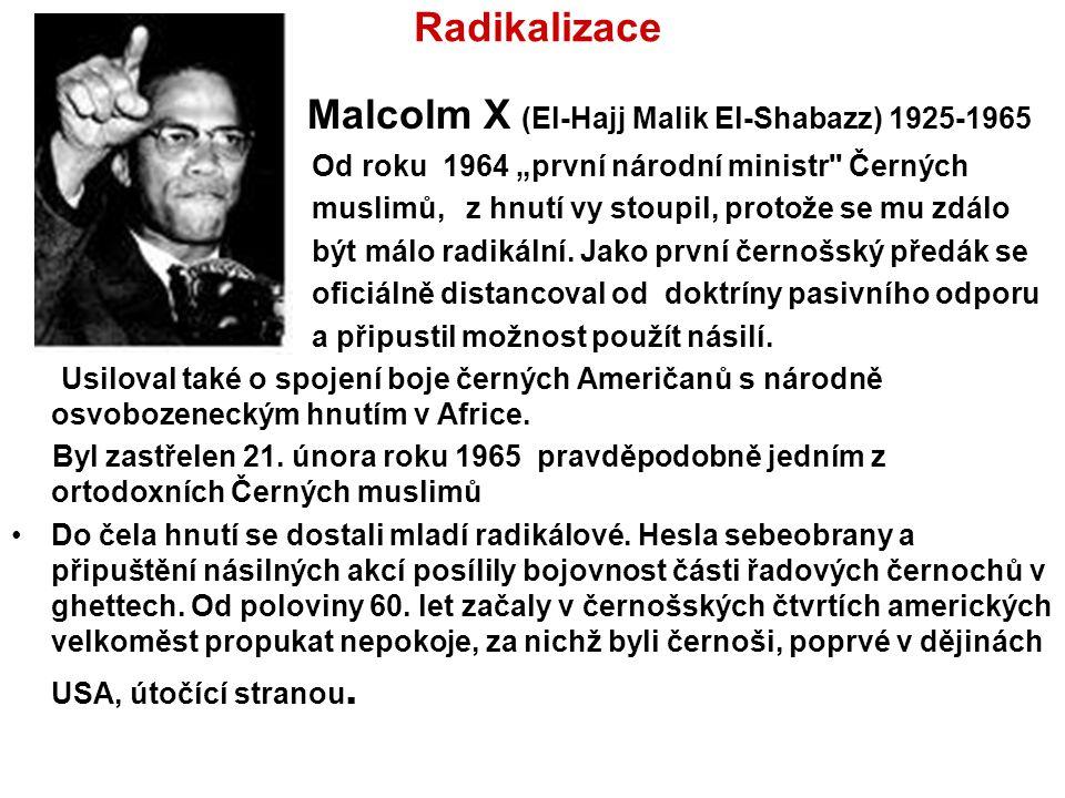 Malcolm X (El-Hajj Malik El-Shabazz) 1925-1965