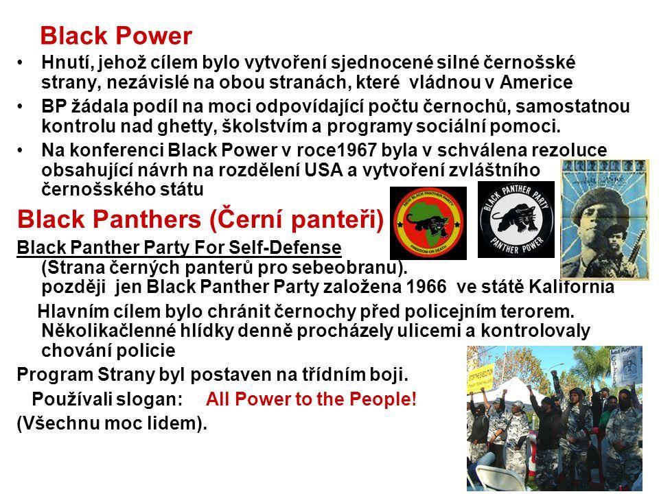 Black Panthers (Černí panteři)