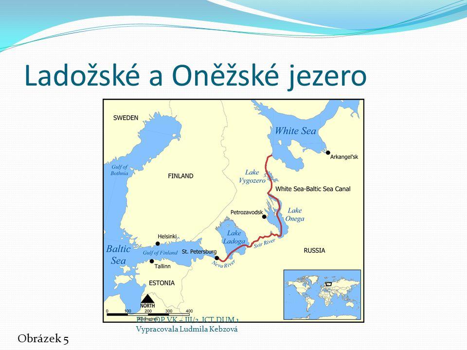 Ladožské a Oněžské jezero