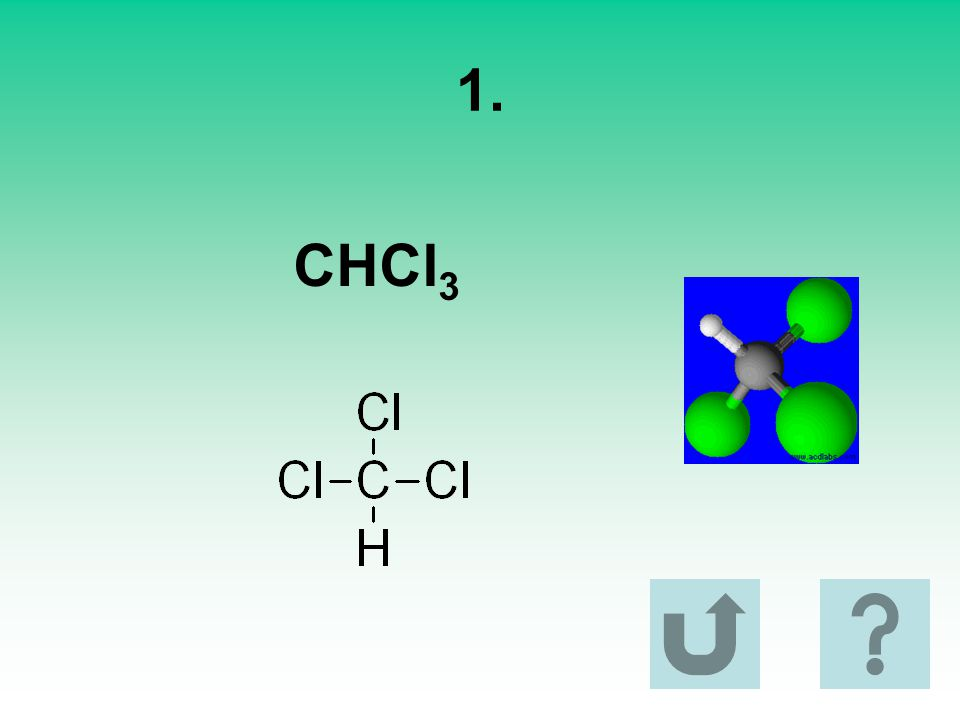 1. CHCl3