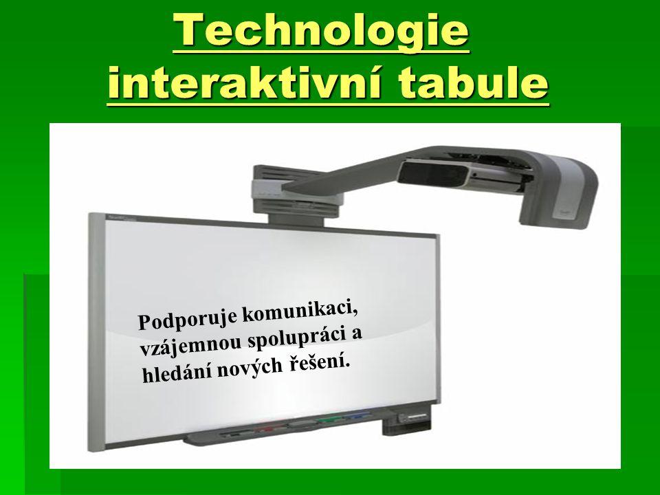 Technologie interaktivní tabule