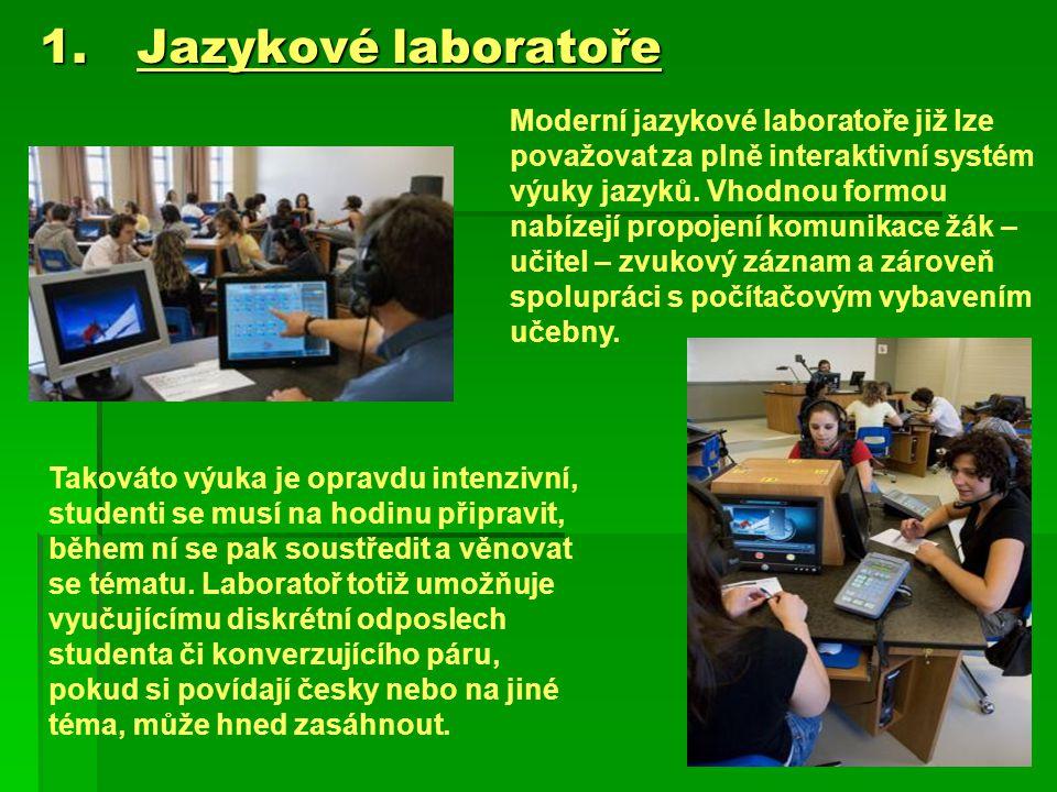 Jazykové laboratoře
