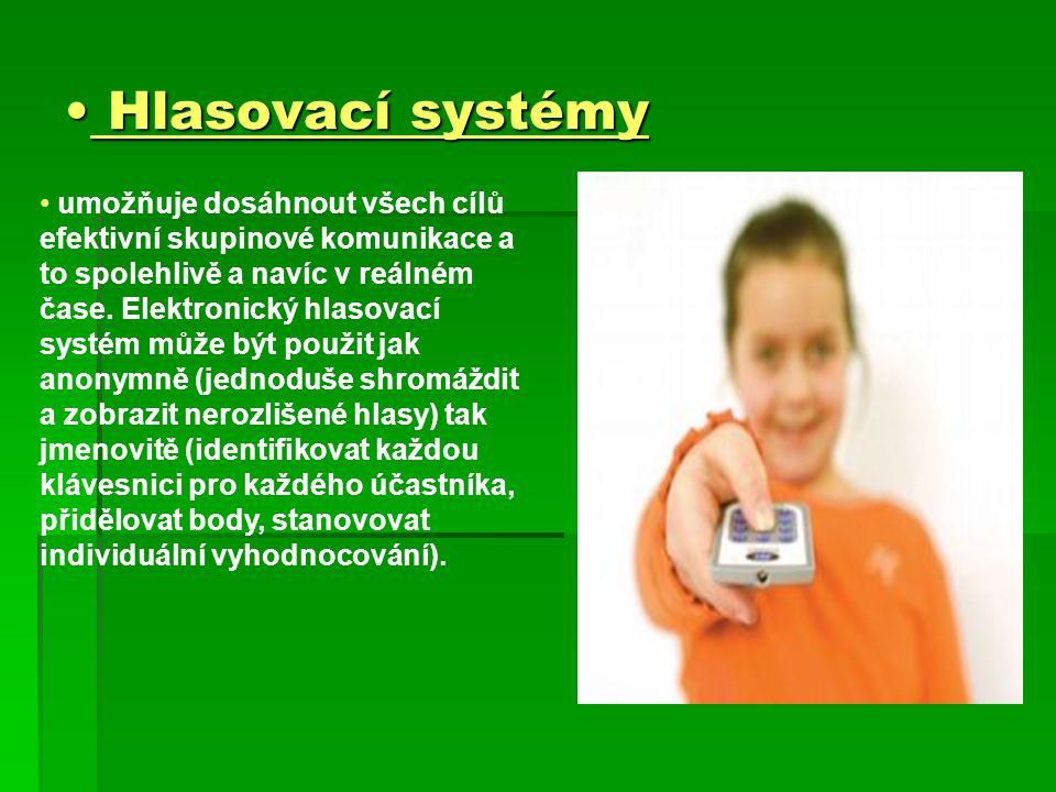 Hlasovací systémy