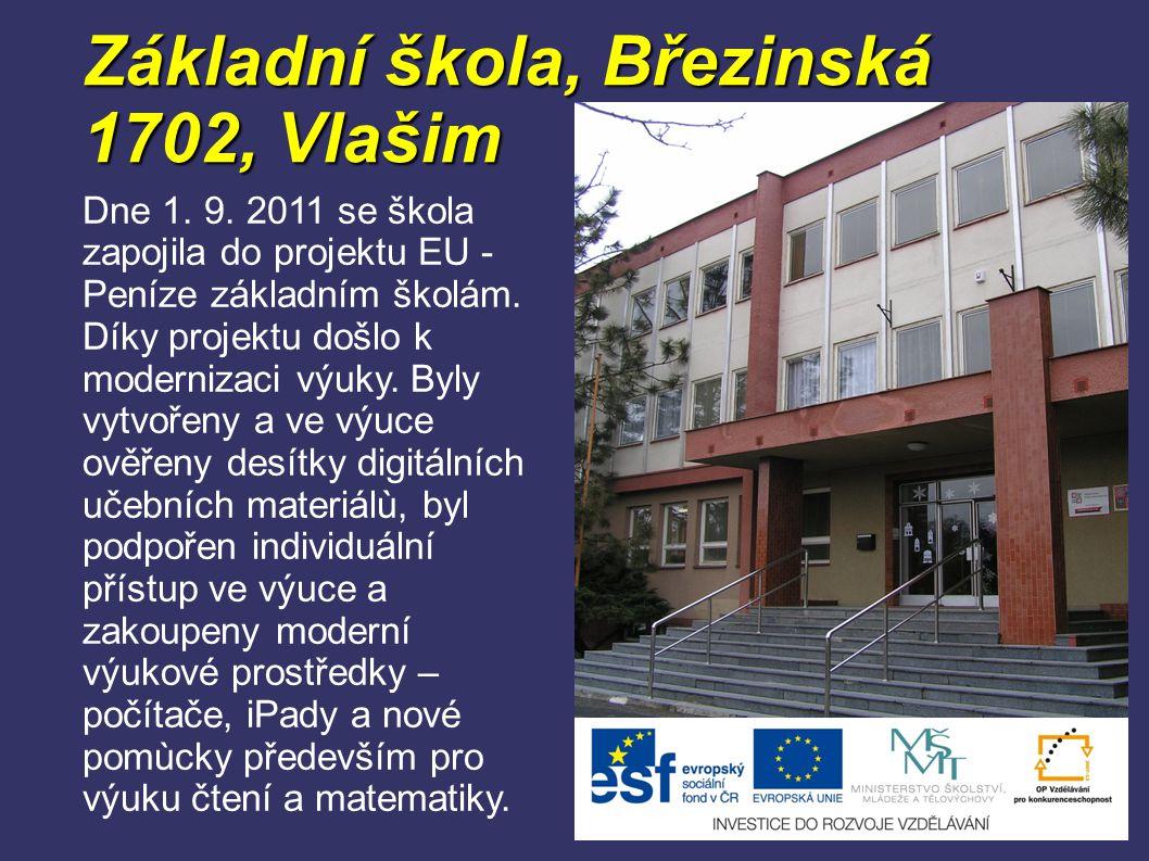 Základní škola, Březinská 1702, Vlašim