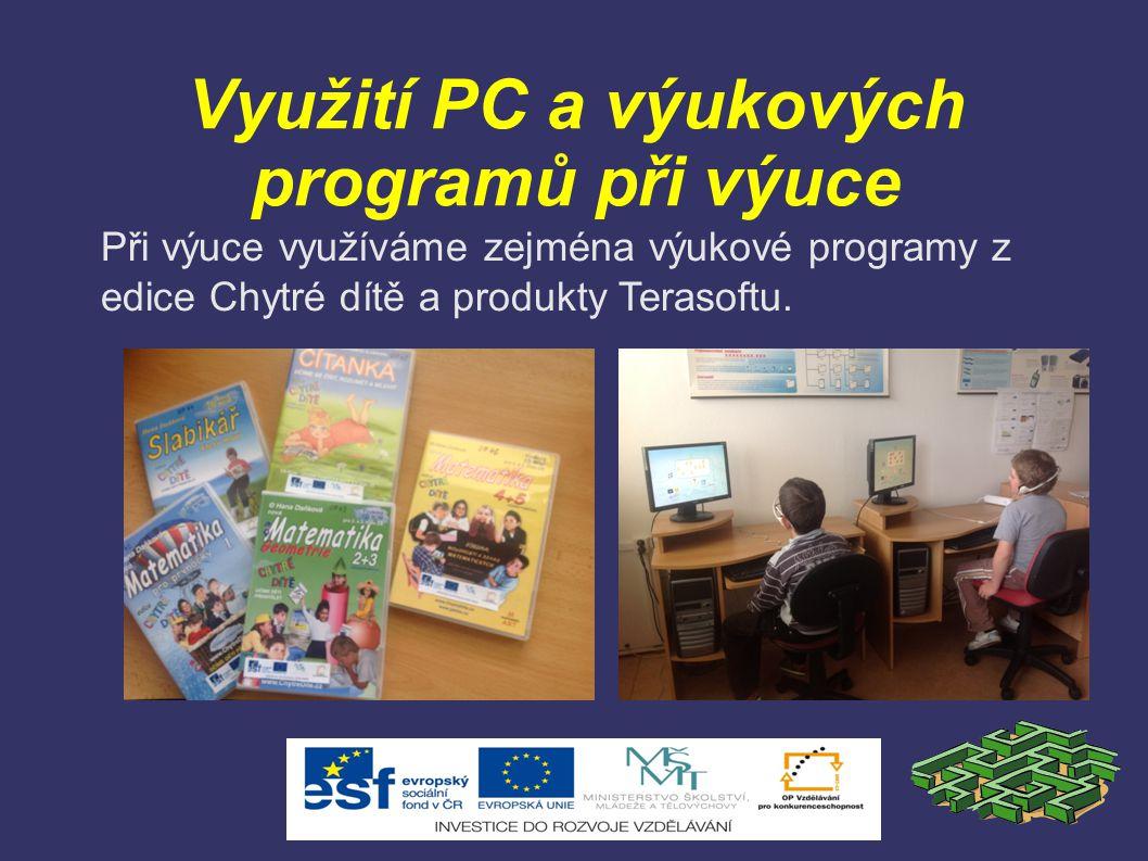 Využití PC a výukových programů při výuce