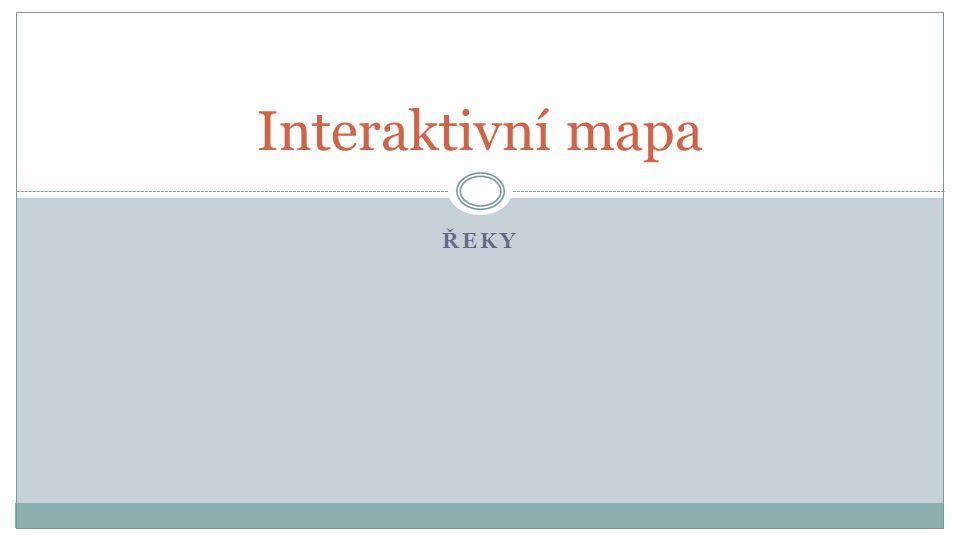 Interaktivní mapa Řeky